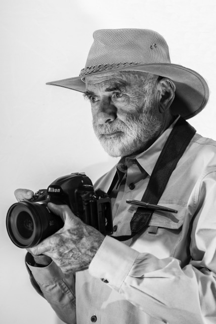Jeffrey Bartfeld with camera